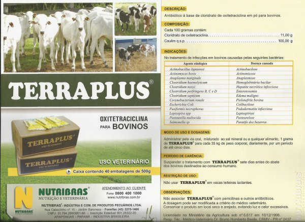 TERRAPLUS - DIARRE�AS