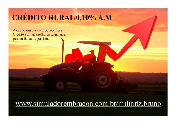 CR�DITO RURAL 1,27% A.A