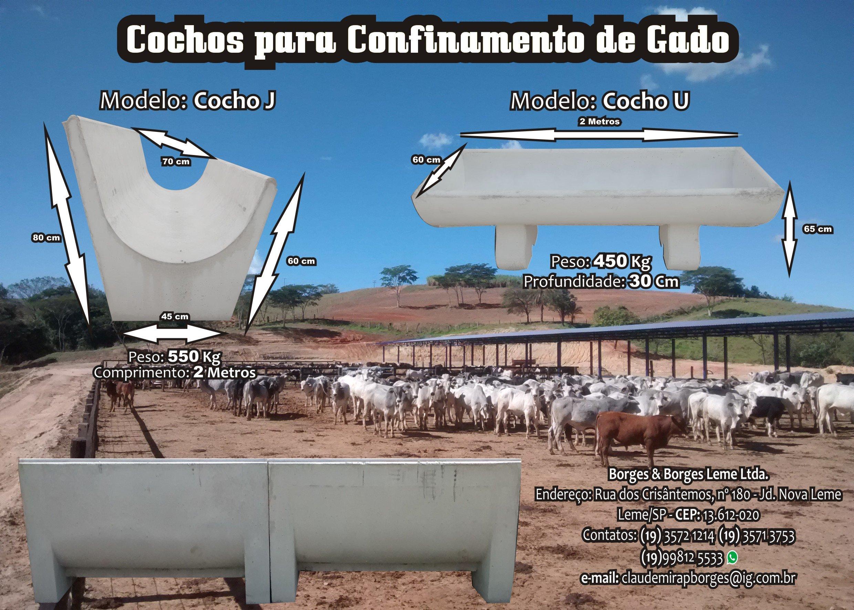 Venda de COCHOS PARA GADO!!!!
