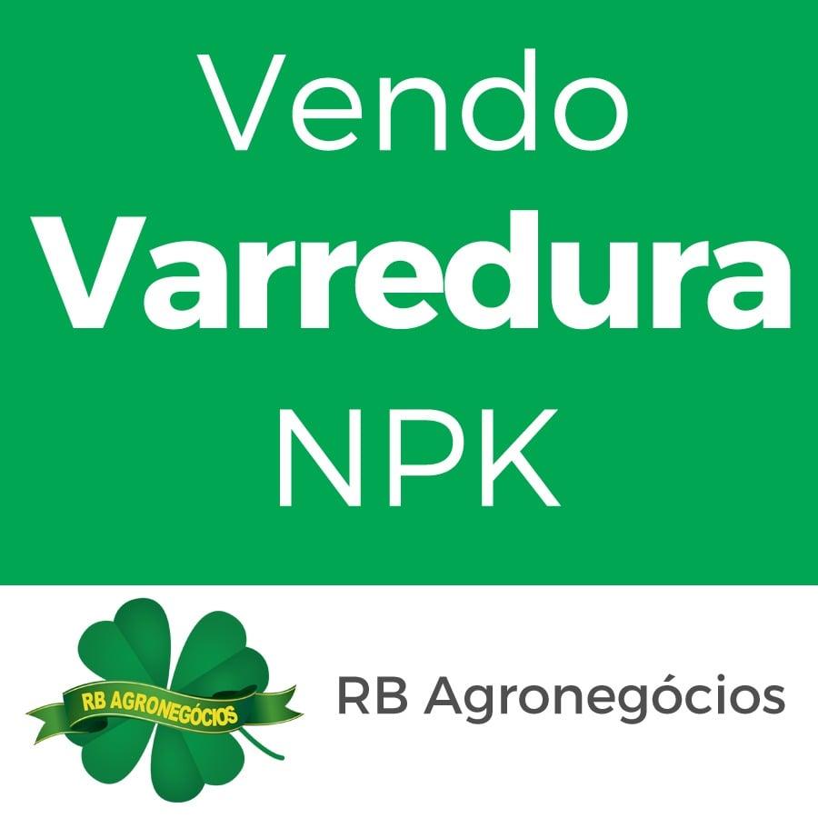 VARREDURA NPK SECA/ BAG