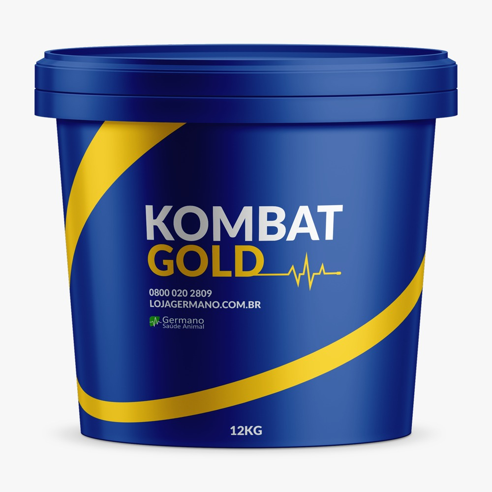 Venda de KOMBAT GOLD 12 KG