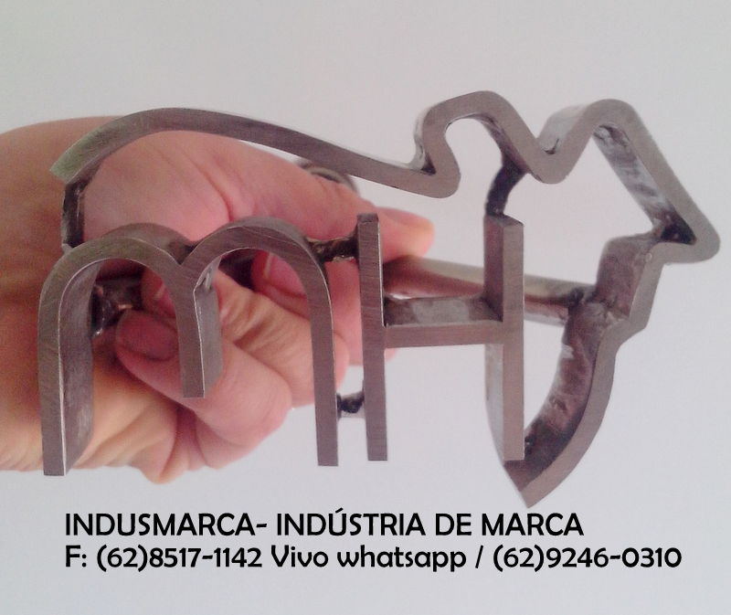 MARCA PARA GADO EM INOX
