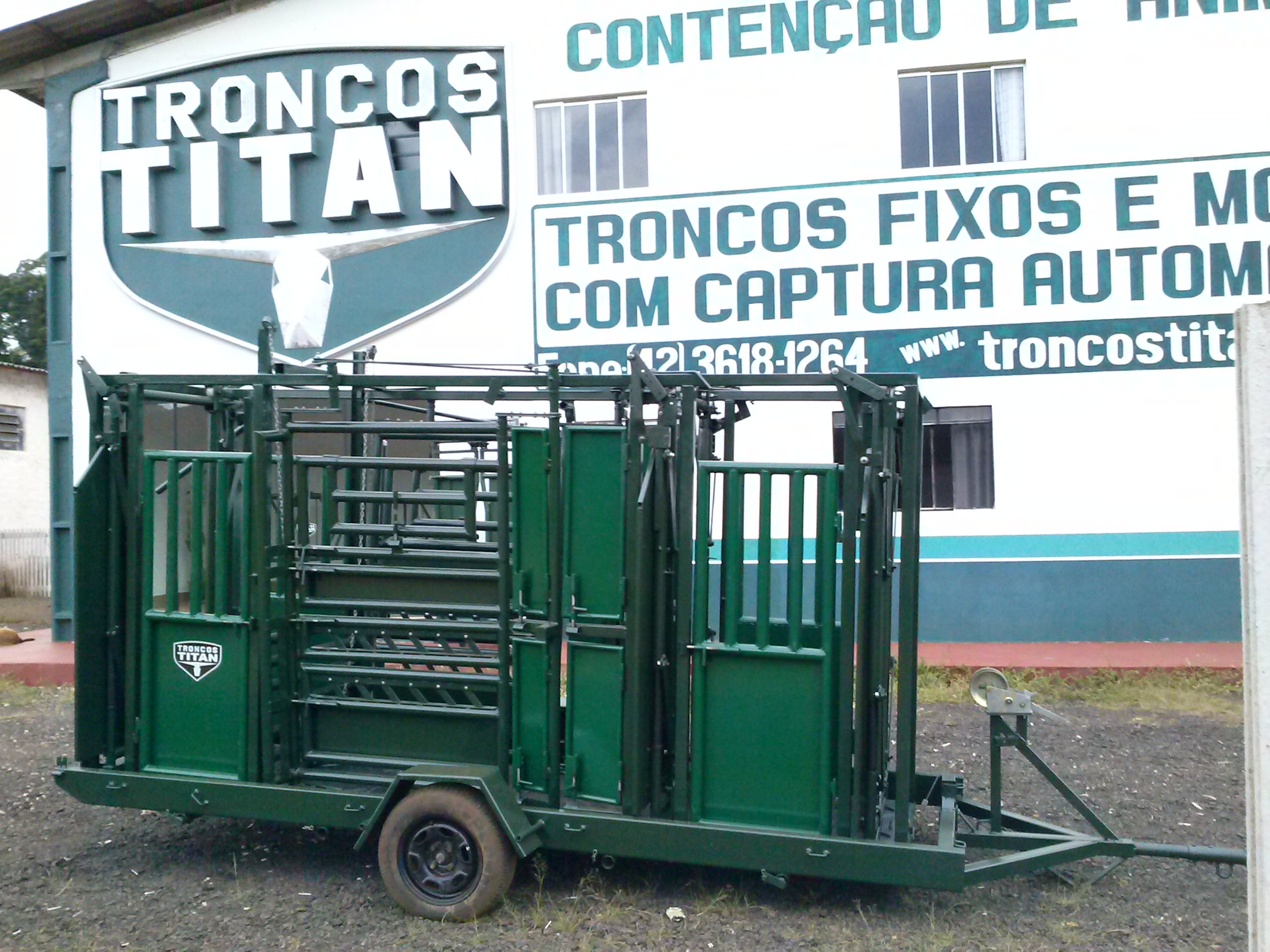 Venda de TRONCOS E BALAN�AS TITAN