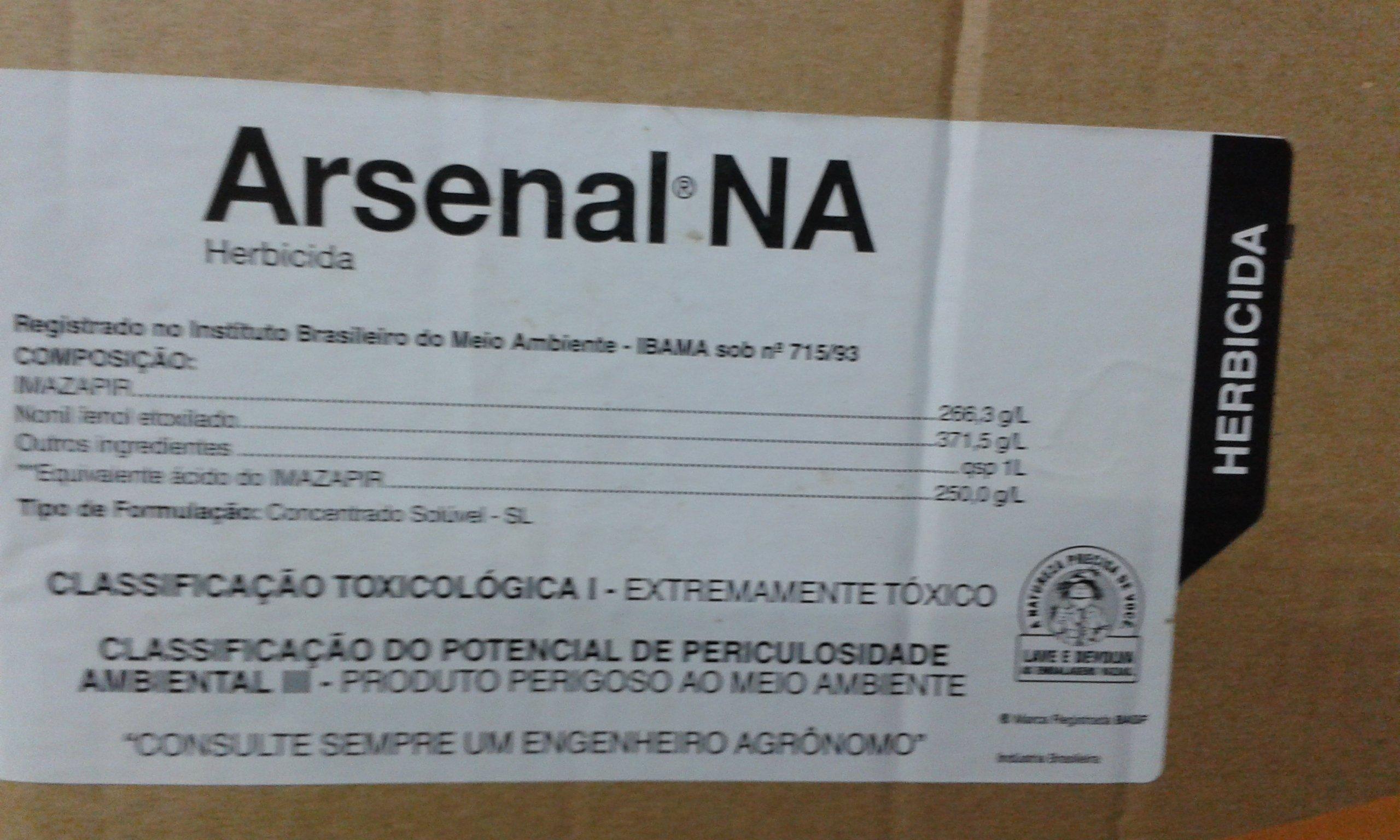HERBICIDA ARSENAL BASF