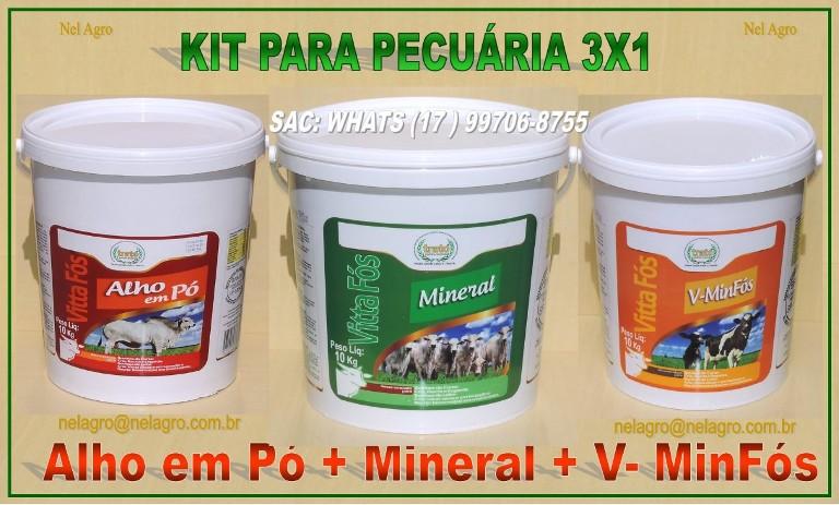 KIT PARASITÁRIO 3X1
