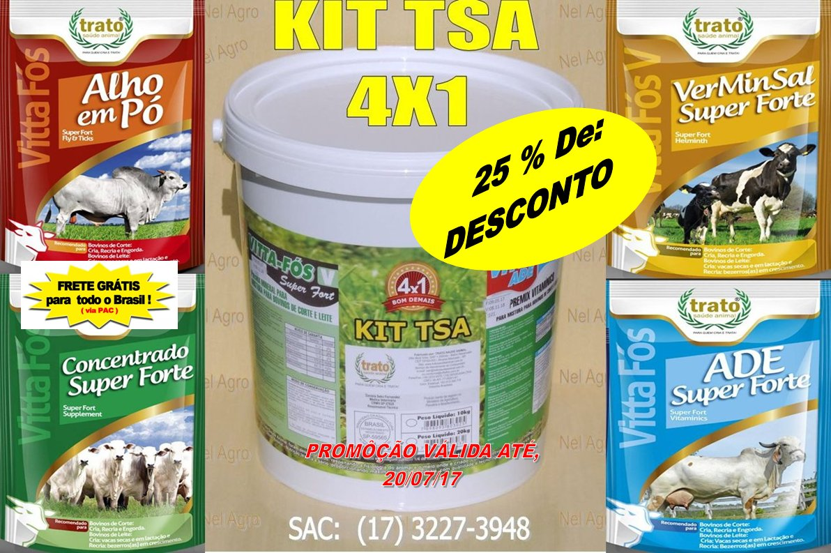SEM MOSCA/CARRAPATOS KIT