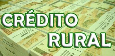 CRÉDITO RURAL SEM JUROS!