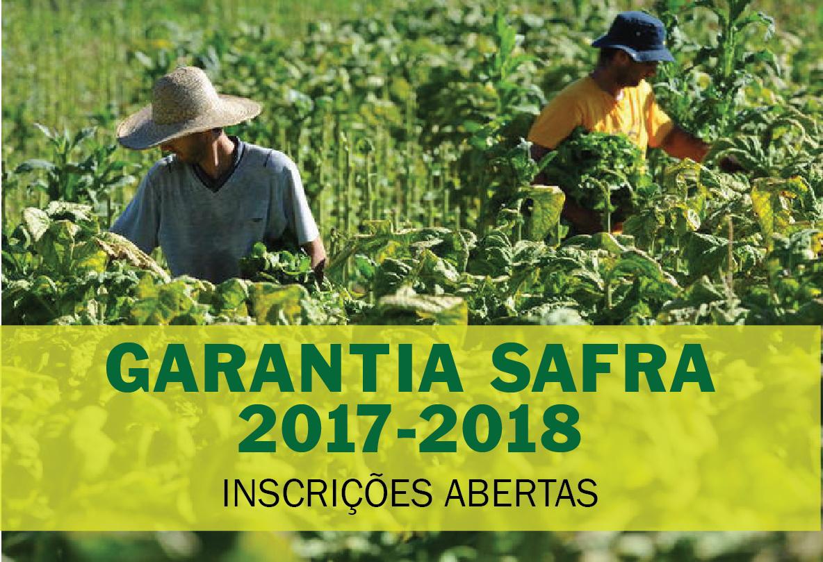 PLANO SAFRA 2017/2018