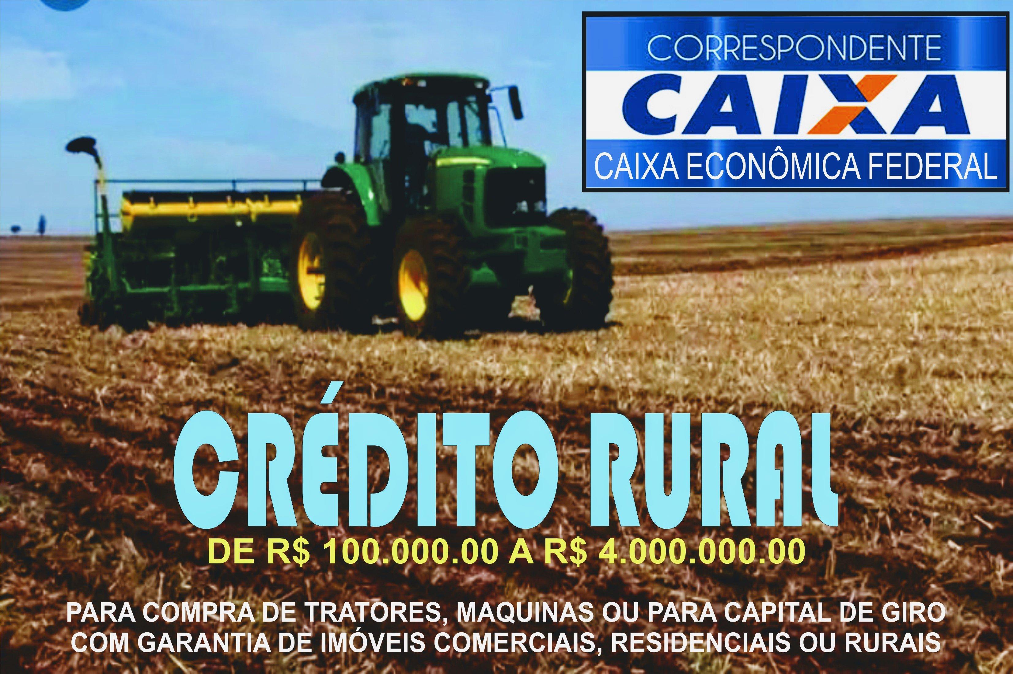CRÉDITO RURAL CAP. GIRO