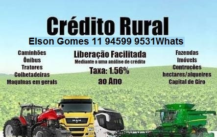 CRÉDITO RURAL / CAPITAL.