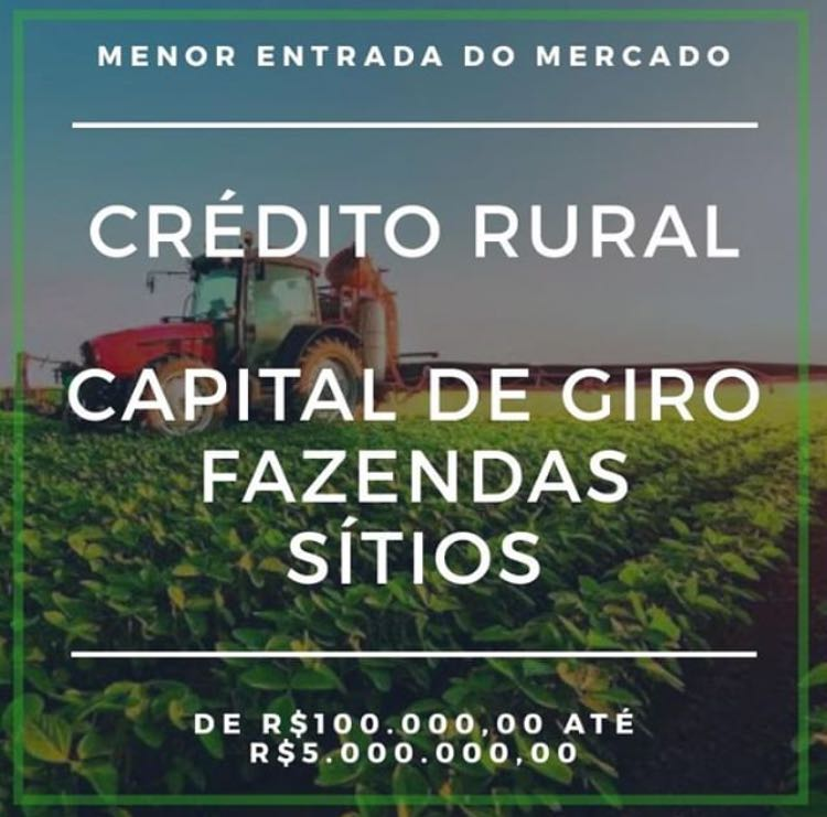 Venda de CAPITAL DE GIRO RURAL