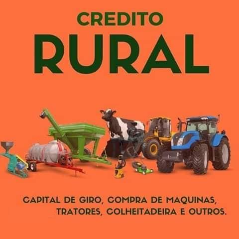 Venda de CRÉDITO RURAL / URBANO