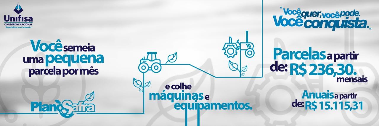 Venda de MAQUINÁRIO - PLANO SAFRA