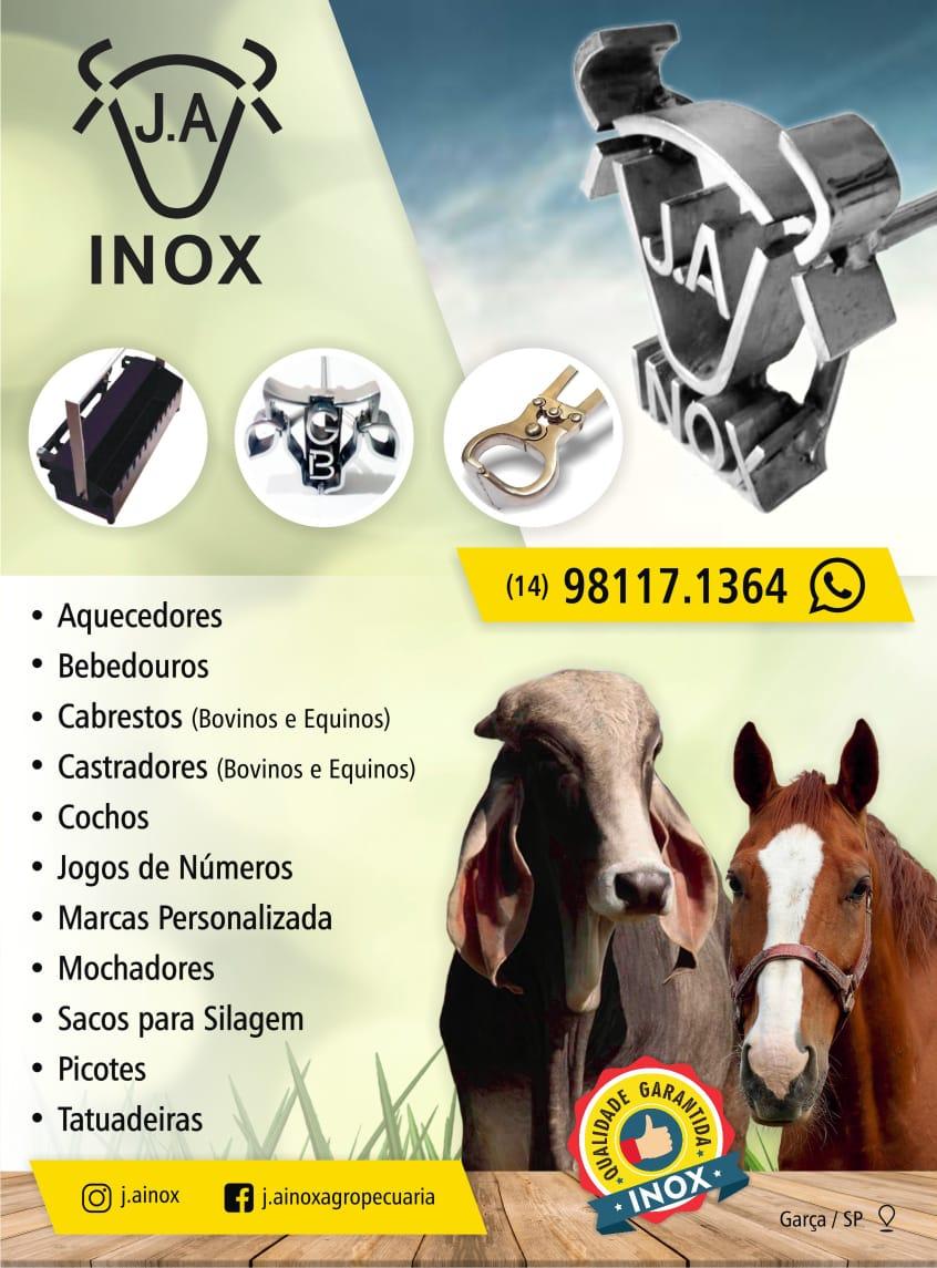 Venda de J.A INOX - MARCAS EM INOX