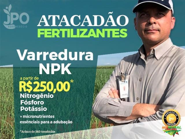 Venda de ADUBO / VARREDURA - NPK