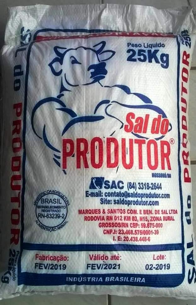 SAL DO PRODUTOR 25 KG