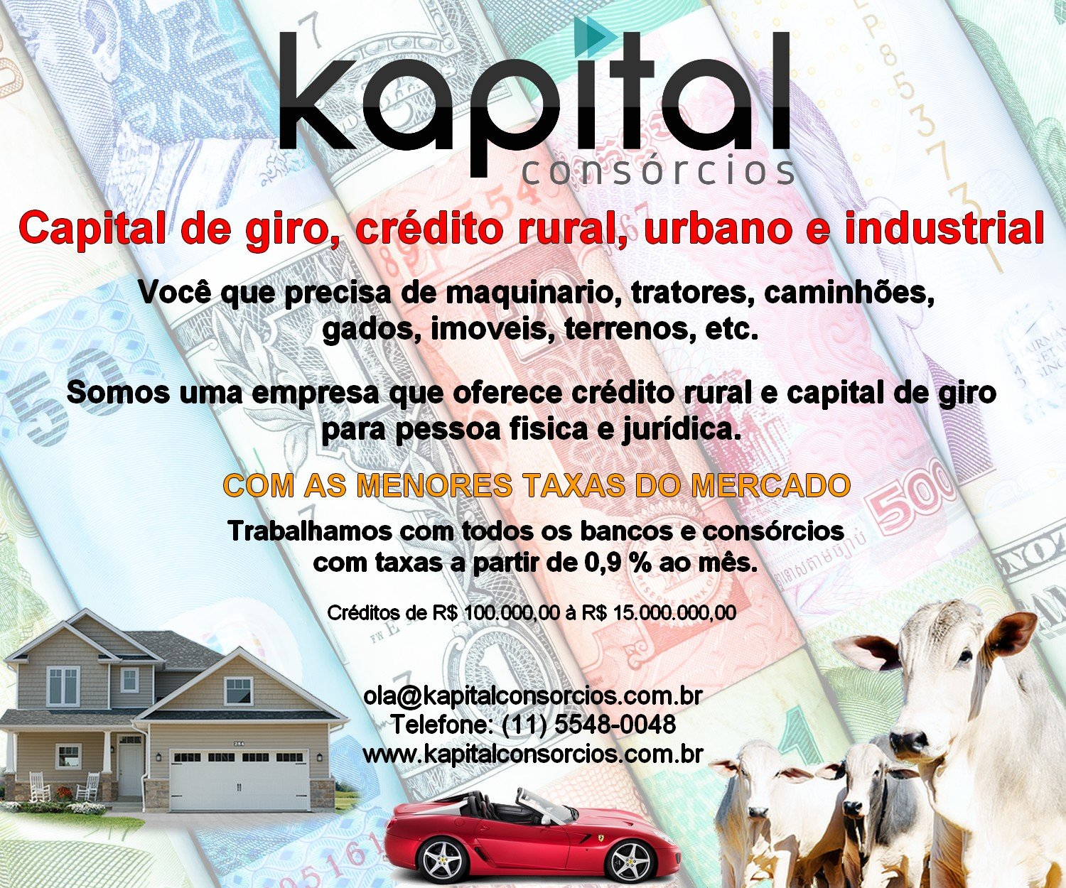 Venda de CAPITAL DE GIRO€CONSOR