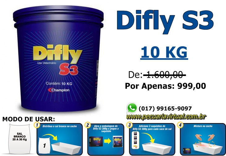 DIFLY S3  10 KG