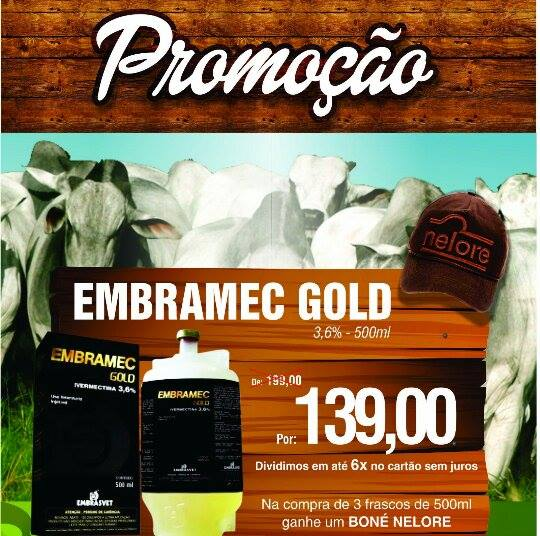 Venda de IVERMECTINA 3,6% GOLD LA