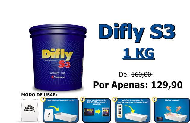 DIFLY S3  01 KG