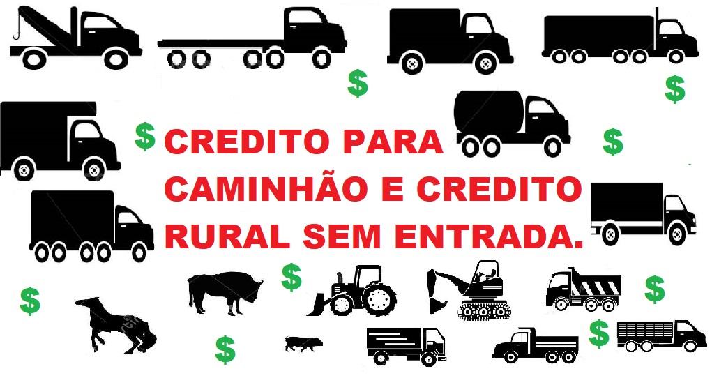 Venda de CRÉDITO RURAL/CAMINHÕES