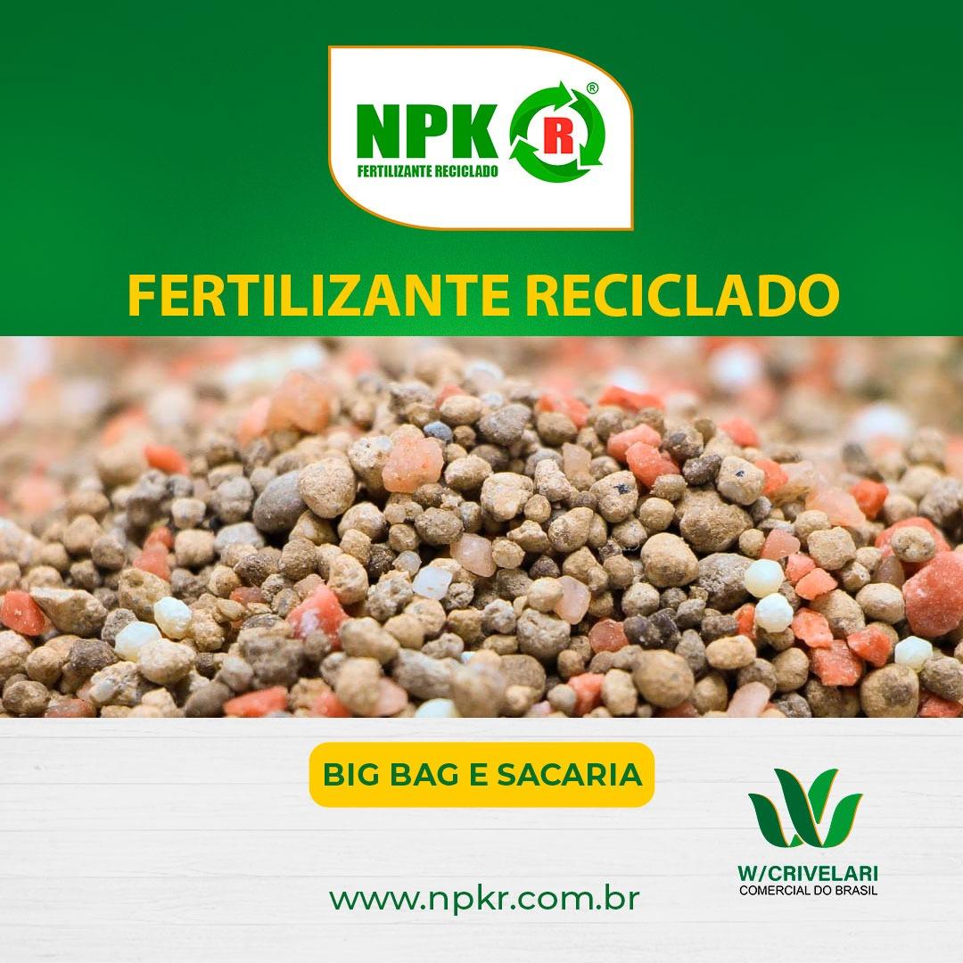 Venda de NPK RECICLADO GRANULADO
