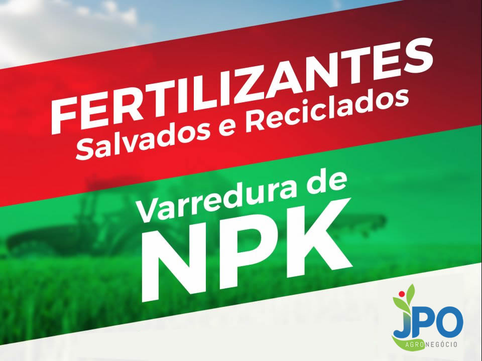 Venda de ADUBO VARREDURA - NPK