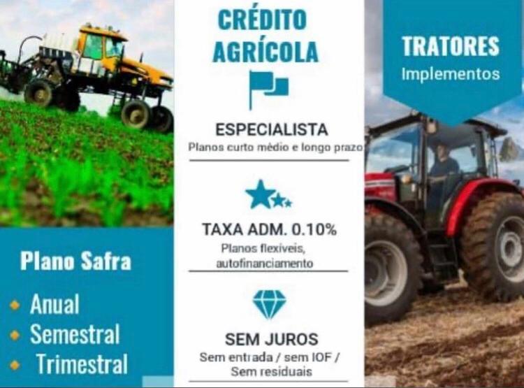 Venda de MAQUINÁRIO CRÉDITO RURAL