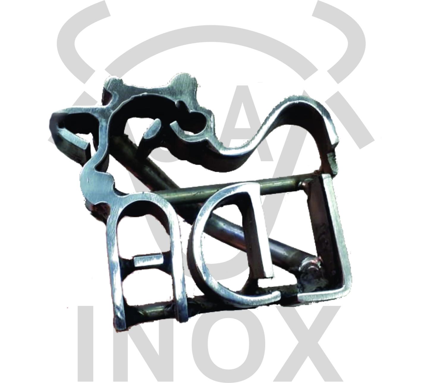 J.A INOX - MARCAS EM INOX