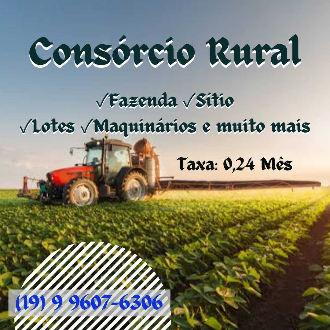 Venda de CARTA DE CRÉDITO RURAL