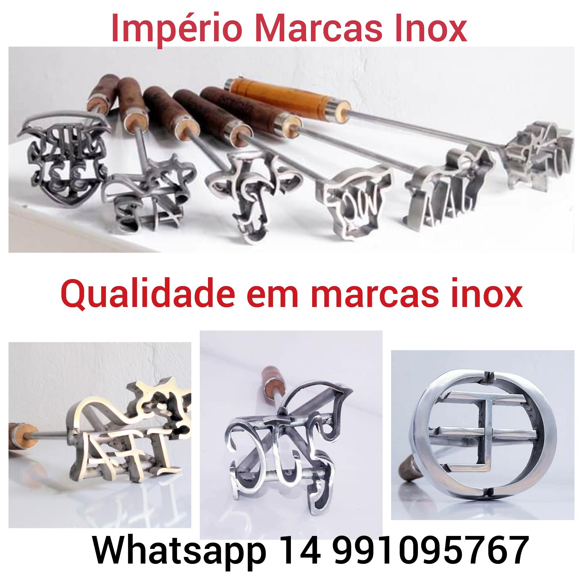 Venda de MARCA DE GADO INOX