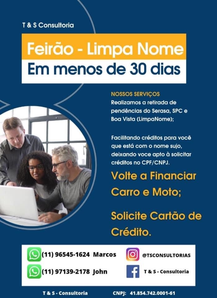 Venda de FEIRÃO LIMPA NOME